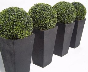 Boxwood topiary artificial 1