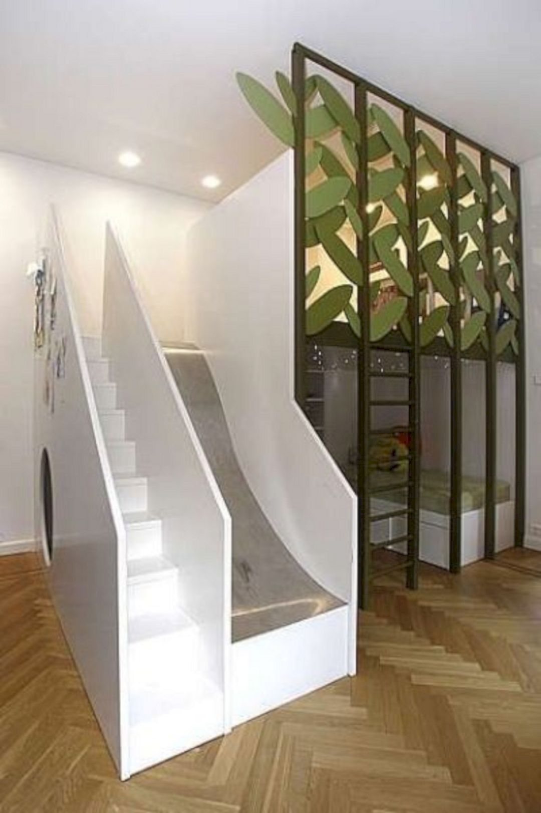 Bunk Bed With Stairs And Slide 3