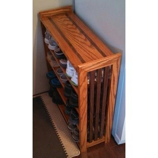 Cherry Wood Shoe Rack Ideas On Foter