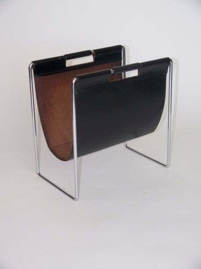 Chrome magazine holder 1