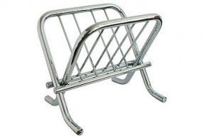 Chrome magazine rack 2