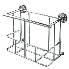 Chrome magazine rack 23