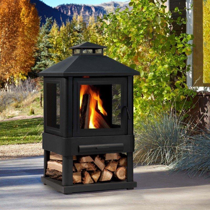 Etonnant Corner Wood Stove Ideas