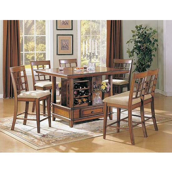 Counter Height Table Sets With Storage 6
