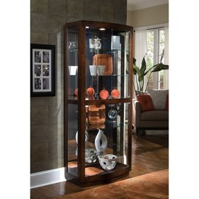 Solid Wood Curio Cabinets Foter