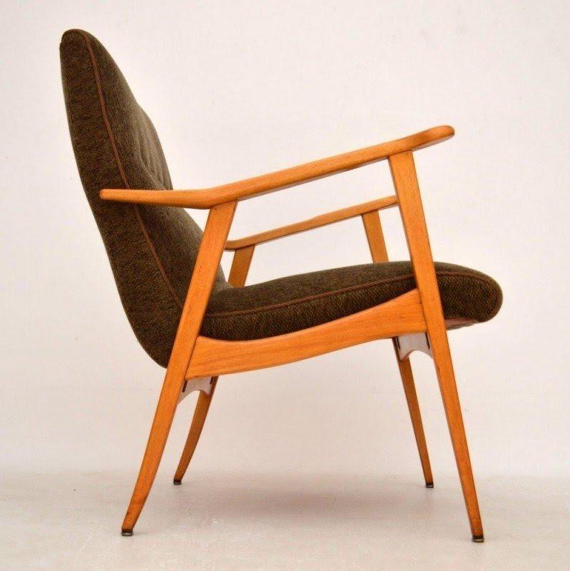 Danish Retro Armchair Vintage 1960s_50455 Jpg