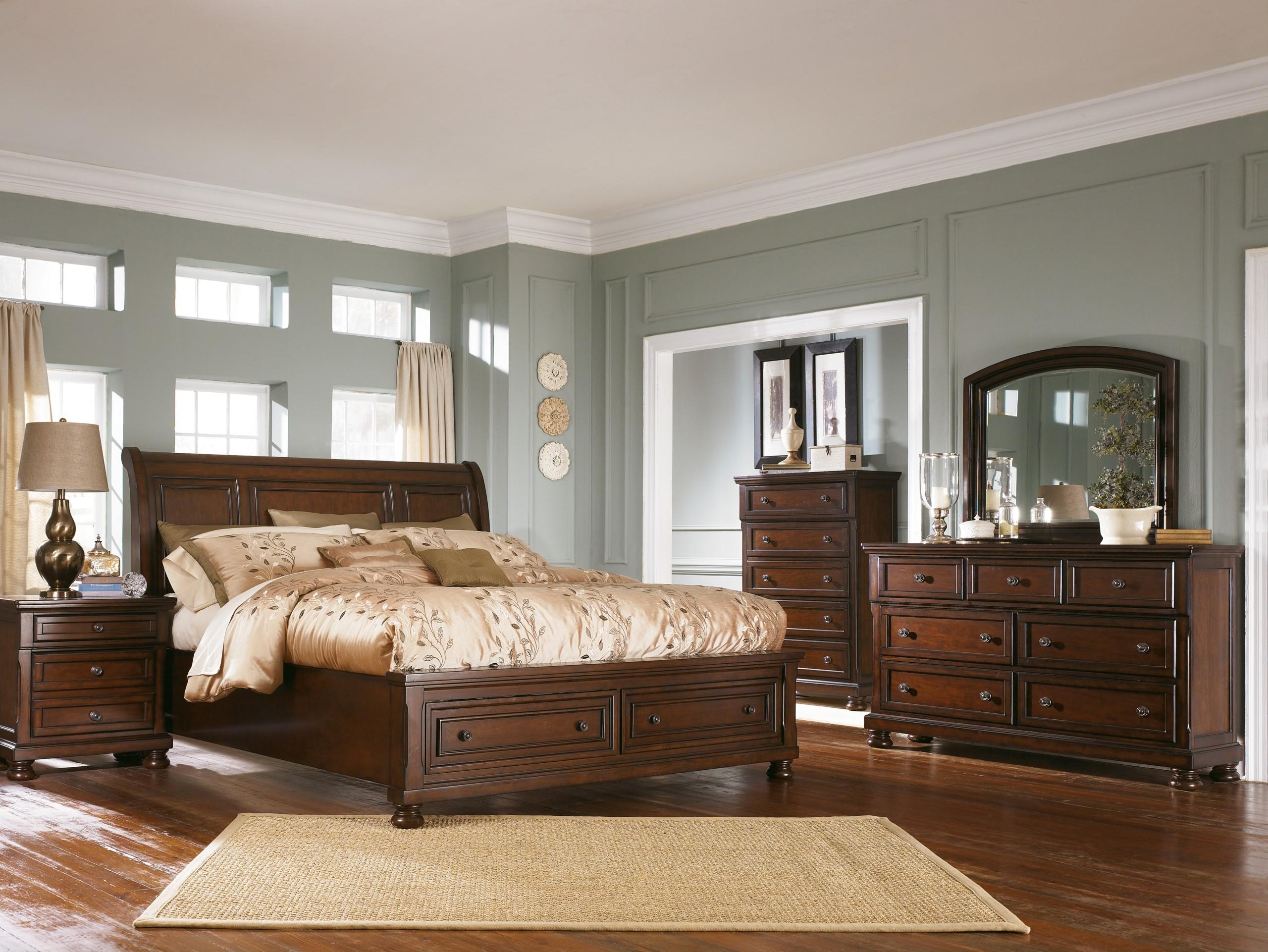 Dark Brown Bedroom Set