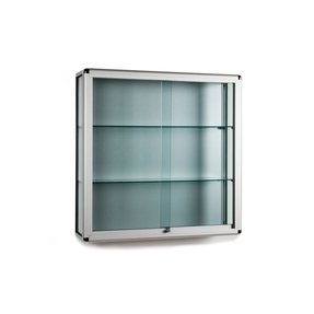 Display cabinets wall mounted
