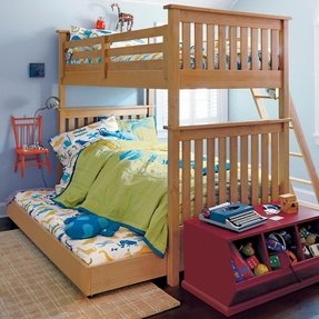 Double twin bunk bed