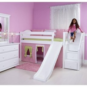 Bunk Bed With Stairs And Slide Ideas On Foter