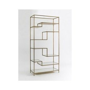 Glass etagere display
