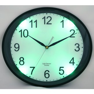 Glow in the dark wall clock 32