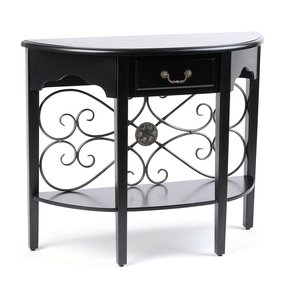 Half Round Entry Table Ideas On Foter