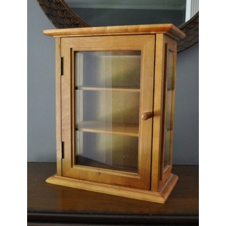 Hanging Curio Display Cabinet Foter