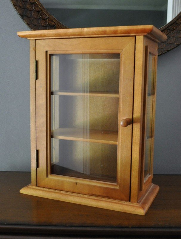 Hanging Curio Display Cabinet 1