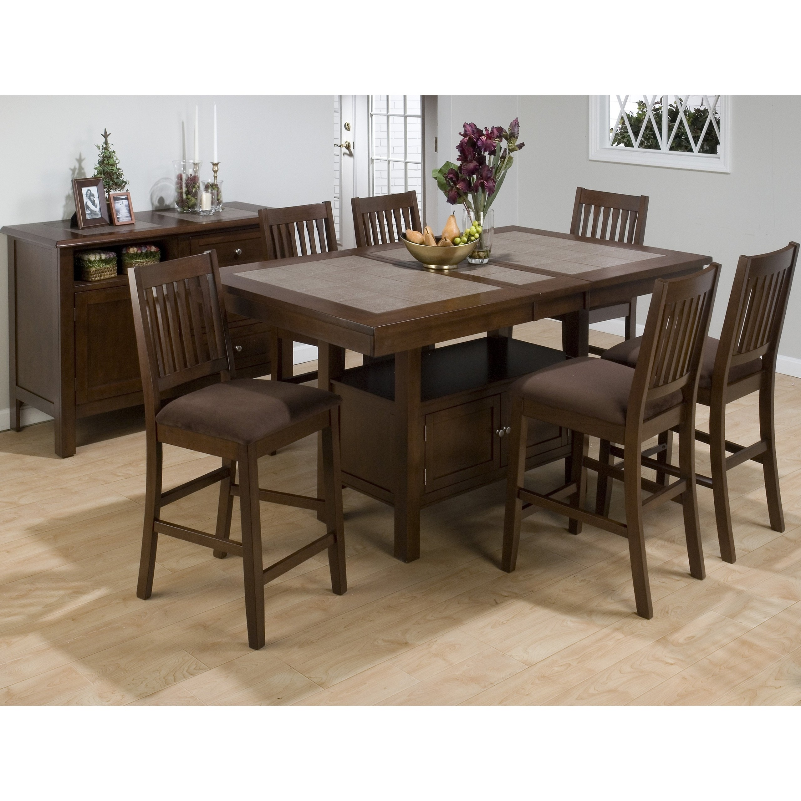 High Top Dining Table With Storage