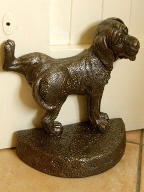 Home homeware warm bronze dog door stop