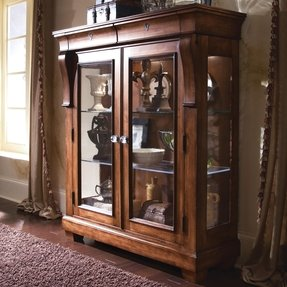 Kincaid tuscano solid wood display cabinet 96 070 by dining