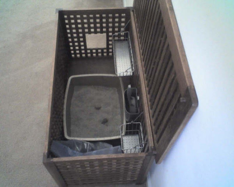 Large Litter Box Furniture