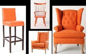 Orange Barstools Foter