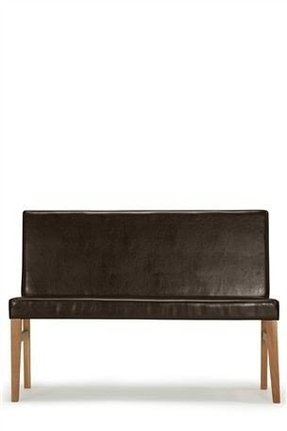 Fabulous Leather Dining Bench With Back For 2020 Ideas On Foter Andrewgaddart Wooden Chair Designs For Living Room Andrewgaddartcom