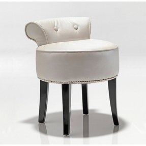 Leather Vanity Stool 18
