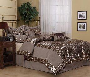 Leopard Print Comforter Set Queen - Ideas on Foter