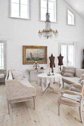 inspiring white shabby chic living room furniture | Shabby Chic Living Room Furniture - Foter