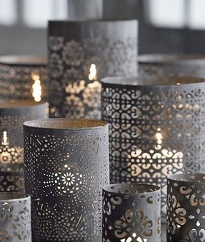 Metal candle holders 1