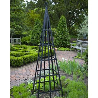 Metal Obelisk Trellis Ideas On Foter