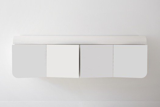 Minimalistic Wall Mounted Cabinet By Rknl