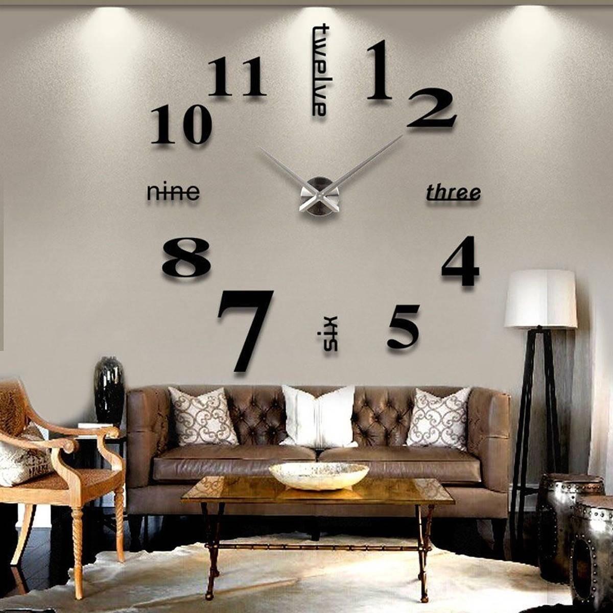 Modern Large Wall Clocks Ideas On Foter