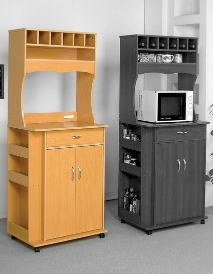 Modern Microwave Cart