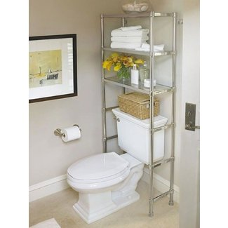 Modern Over The Toilet Storage   Ideas on Foter