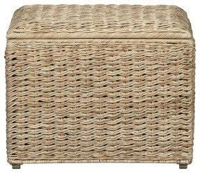 Wicker Storage Ottomans Foter