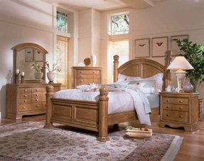 Honey Oak Bedroom Furniture Wayfair Source Set Model