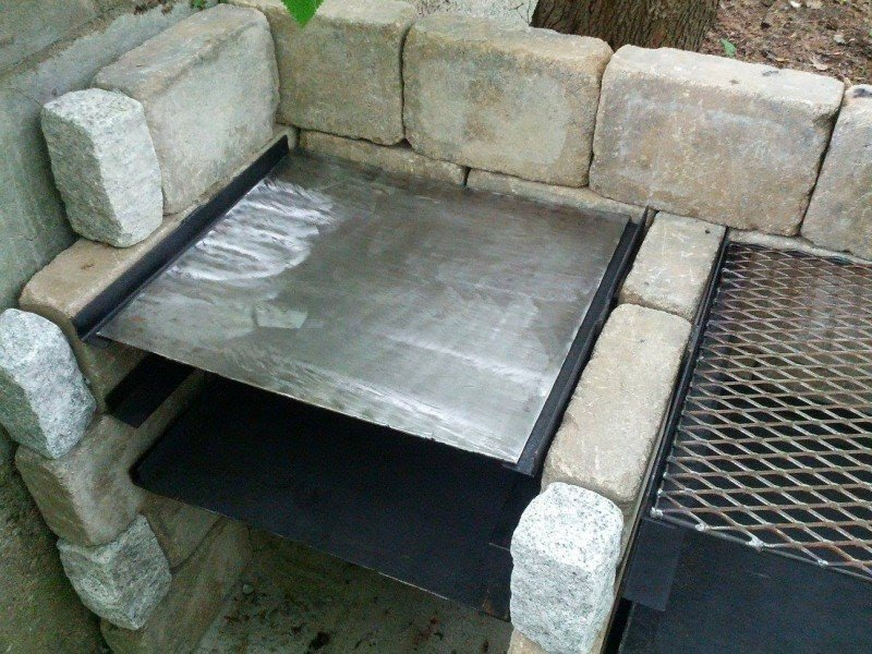 Outdoor Grill Griddle 2