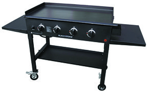 Outdoor grill griddle 8