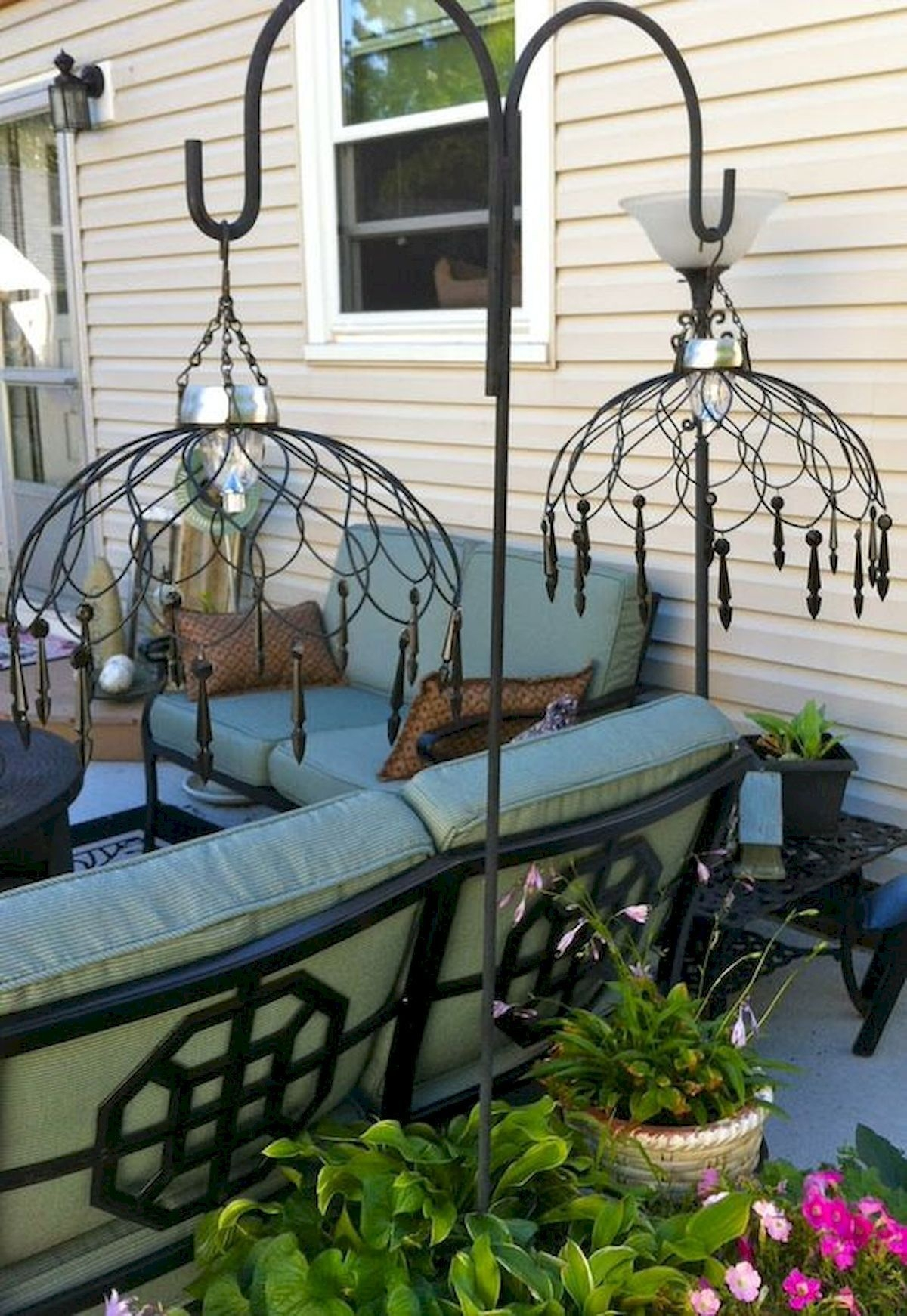 Lovely Outdoor Hanging Chandelier