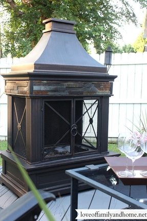Outdoor Wood Burning Fireplaces Ideas On Foter