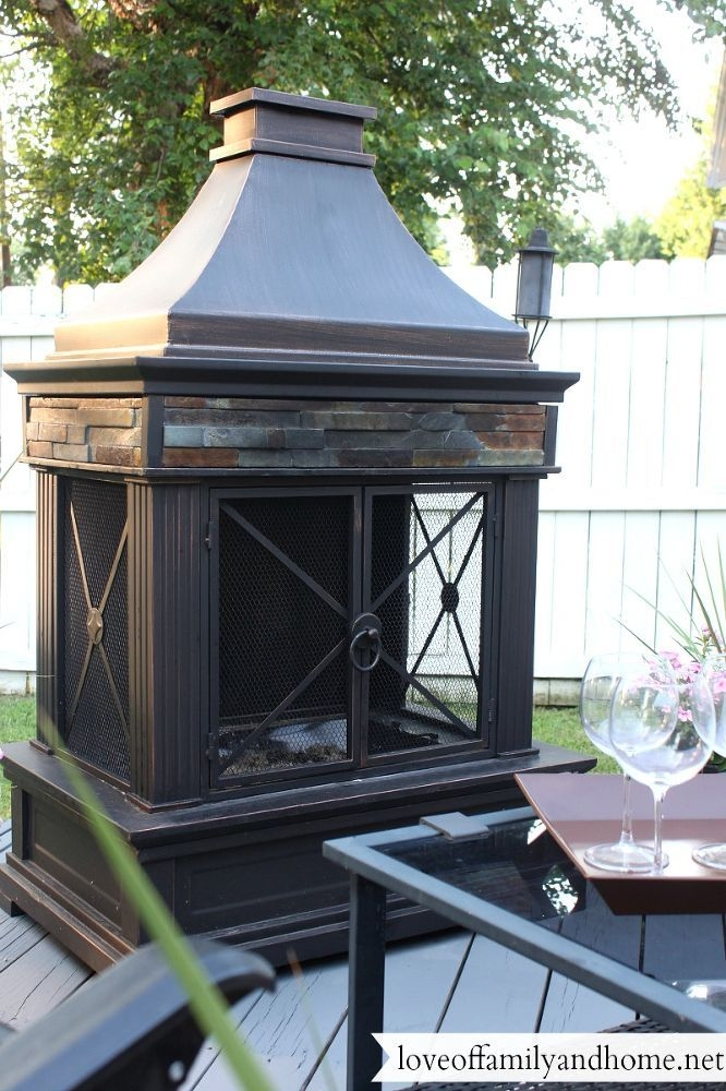 Outdoor Wood Burning Fireplaces 4
