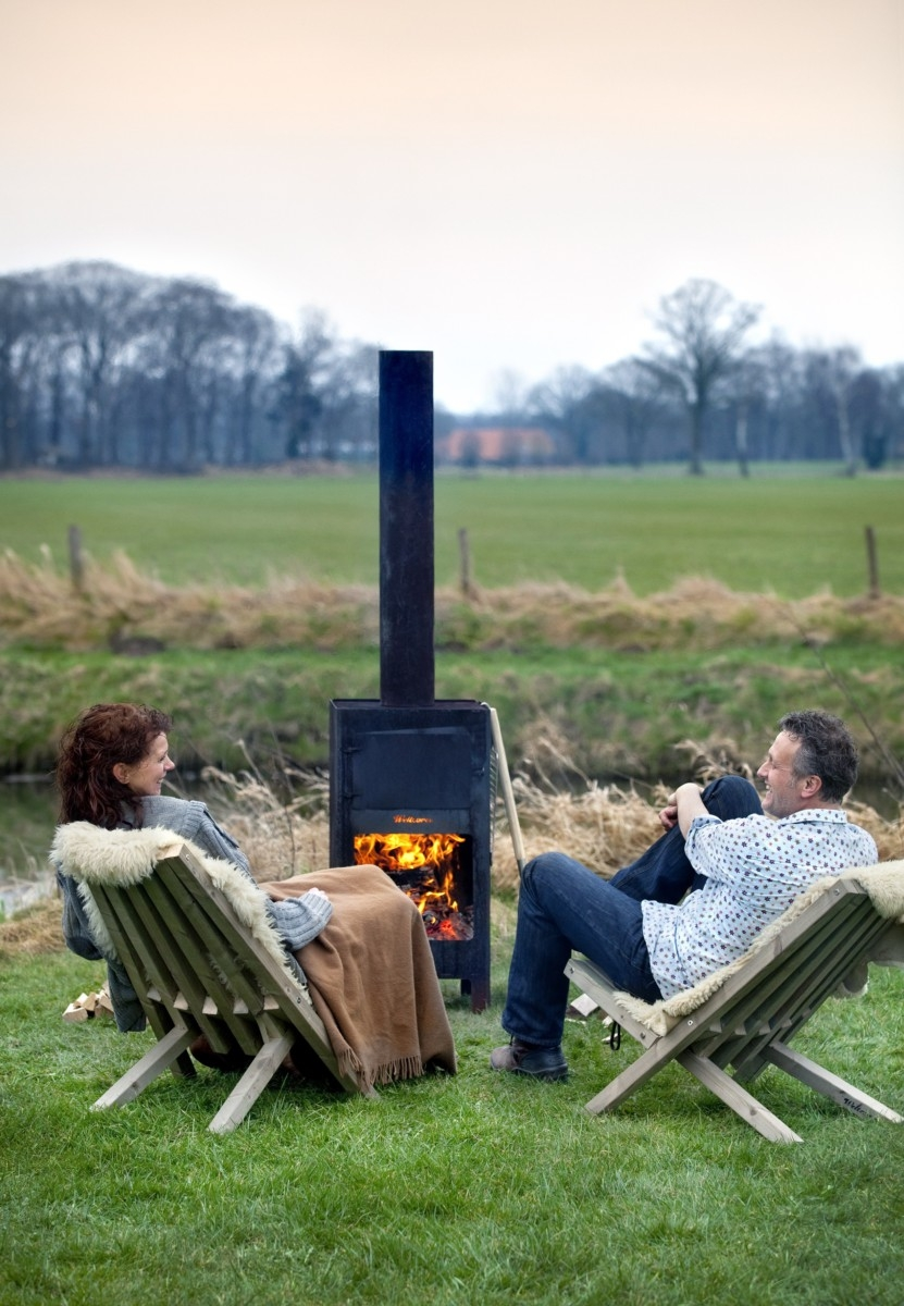 Awesome Outdoor Wood Burning Fireplaces