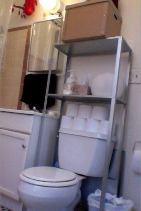 Over Toilet Shelf