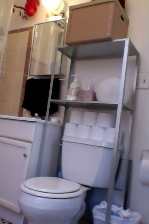 Over Toilet Shelf