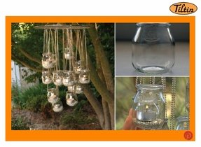 Outdoor hanging chandelier foter patio chandelier outdoor mozeypictures Choice Image