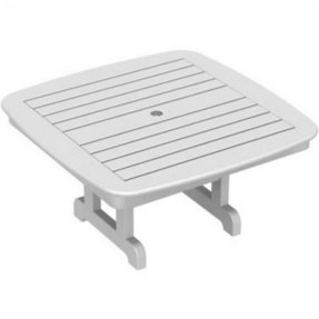 Plastic coffee tables polywood nautical square plastic center coffee
