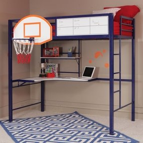 Kids Loft Bed With Desk Underneath Foter