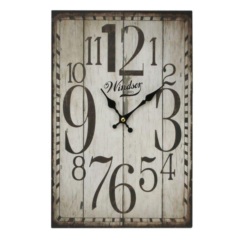 Rectangle Wall Clocks 1