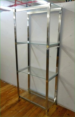 Chrome Bookcases - Foter