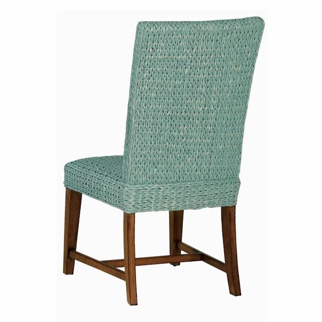 Seagrass Dining Chairs Example Pictured Seagrass Side Chair In Blue